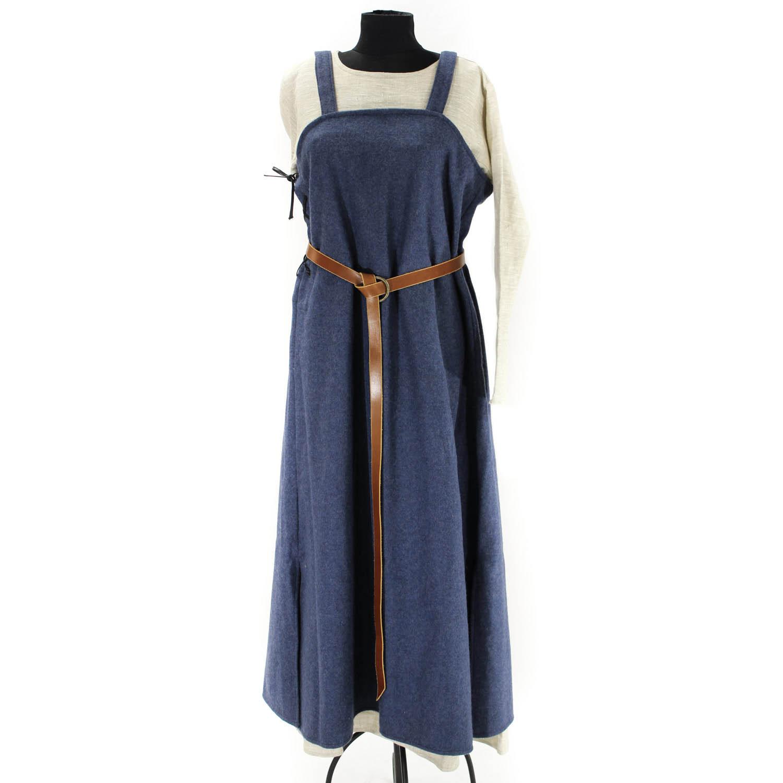 8c59e75d5d86 Vikingatida Hängselkjol : Vikingatida hängselkjol i mörkblått ylle