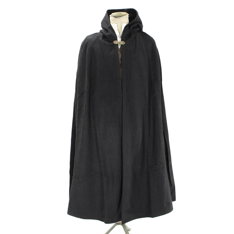 Klassisk Mantel : Mantel i svart ylle
