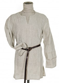 Tunic in natural linen